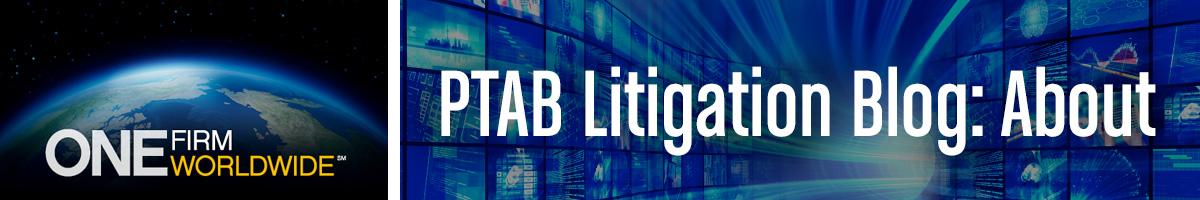 Jones Day's PTAB Litigation Blog, About the blog