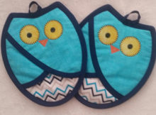 Owl Pot Holder | Easy Sewing Pattern