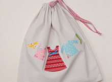 Travel Laundry Bag | Free Pattern