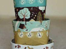 Fabric Bins Sewing Tutorial