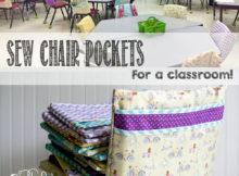 DIY Chair Pocket