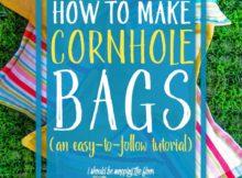 Easy to Make Cornhole Bags