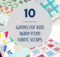 10 Games for Kids Made From Fabric Scraps
