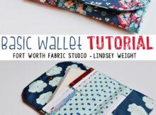 Free Wallet Sewing Tutorial