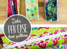 Free Pen Case Zipper Pouch Pattern