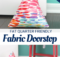 DIY Fabric Doorstop Tutorial