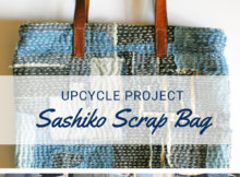 Sashiko Scrap Tote Tutorial