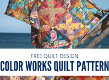 Free Color Works Quilt Pattern by Kathy Doughty