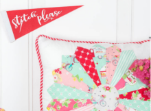 Dresden Plate Pillow Free Tutorial