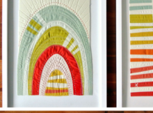 Framed Mini Quilt Tutorial