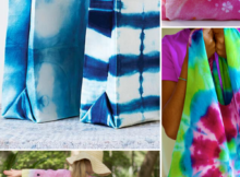 Tie Dye Sewing Projects, things to sew with tie dye fabric.