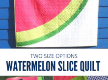 Watermelon Quilt and Table Topper Pattern