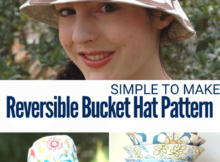 Reversible Bucket Hat Sewing Pattern