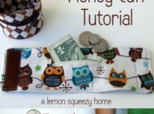 Lunch Money Cuff Sewing Tutorial