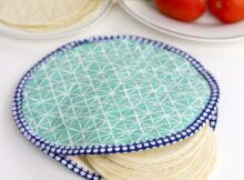 Microwave-able Fabric Tortilla Warmer Tutorial