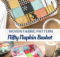 Woven Fabric Napkin Basket Sewing Pattern
