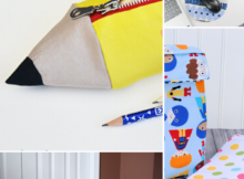 10 Thing to Sew for Back To School. DIY back to school projects that are easy to sew.