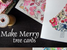 Scrappy Tree Christmas Cards Tutorial