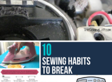 10 Sewing Habits to Break