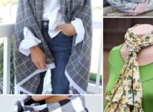 10 DIY Scarf Patterns to Sew