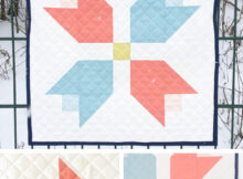 Tulip Bouquet Wall Quilt Free Sewing Pattern