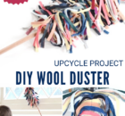 DIY Wool Duster from Scraps Tutorial