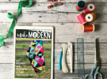 Make Modern digital quilt magazine. Offers patterns, interviews, tips and SEW much more!