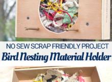 DIY Fabric Scrap Nesting Box Tutorial