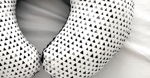DIY Nursing Pillow Cover Sewing Tutorial