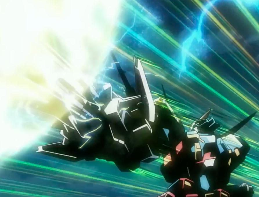 การรวมร่างในตำนาน SRX and R-Gun ฉากนี้โคตรดี