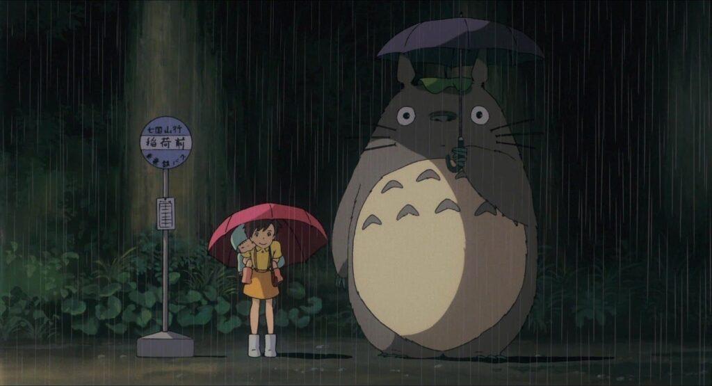 'My Neighbor Totoro' โทโทโร่เพื่อนรัก อนิเมะไทย ฉากนี้โคตรดี ANIMEไทย My Neighbor Totoro StudioGhibli