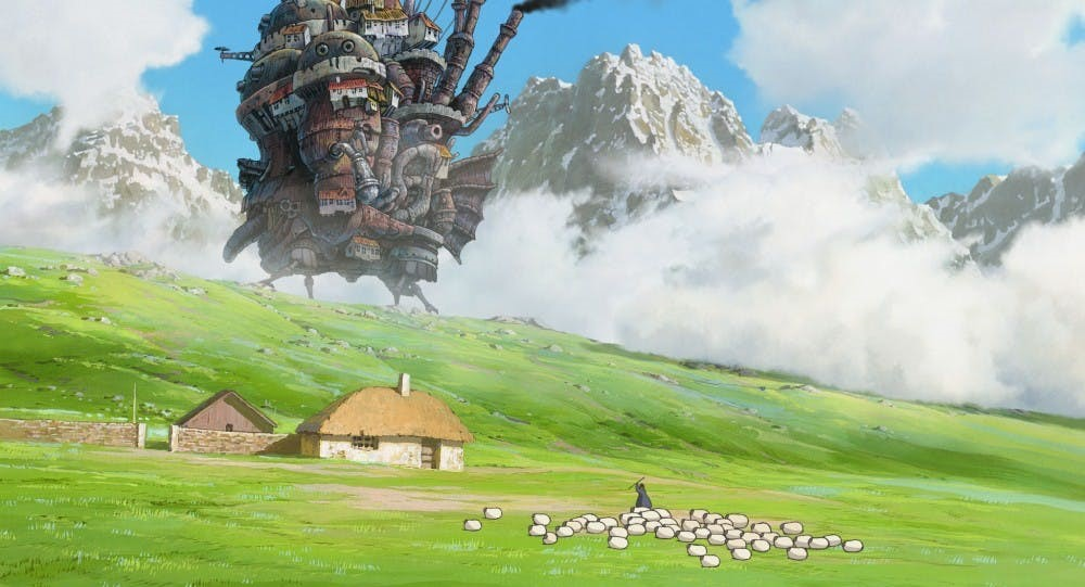 'Howl's moving castle' ปราสาทเวทมนตร์ของฮาวล์ อนิเมะไทย ฉากนี้โคตรดี ANIMEไทย Studio Ghibli Howl's moving castle