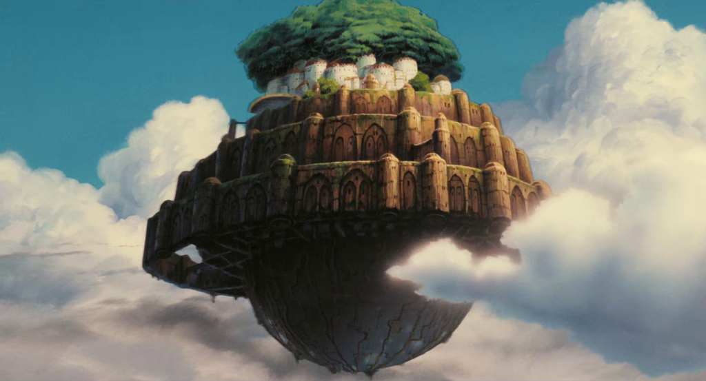 """Laputa : castle in the sky"" เมืองลอยฟ้าจากฮายาโอะ มิยาซากิ อนิเมะไทย ฉากนี้โคตรดี ANIMEไทย Studio Ghibli Laputa : castle in the sky"