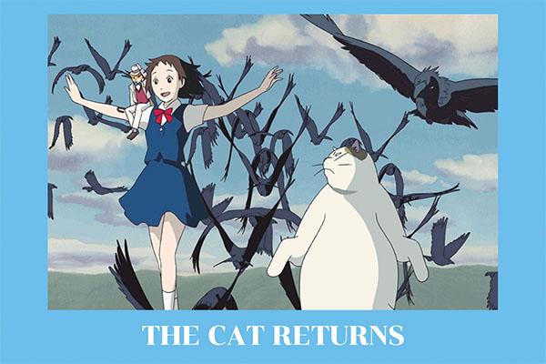 """ The Cat returns"" เมื่อเธอต้องกลายเป็นเจ้าหญิงแมว อนิเมะไทย ฉากนี้โคตรดี ANIMEไทย Studio Ghibli The Cat returns"