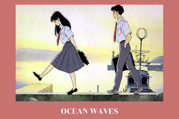 """""""OCEN WAVES"""" รักครั้งหนึ่ง...คิดถึงตลอดไป หนังรักสไตล์จิบลิ เรียบง่ายแต่ลึกซึ้ง อนิเมะไทย ฉากนี้โคตรดี ANIMEไทย OCEN WAVES"""