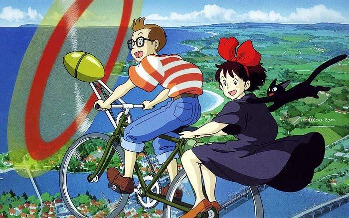 """""""Kiki's delivery service"""" แม่มดน้อยกิกิ ขนส่งทางอากาศสุดน่ารักประจำเมือง อนิเมะไทย ฉากนี้โคตรดี ANIMEไทย Studio Ghibli Kiki's delivery service"""