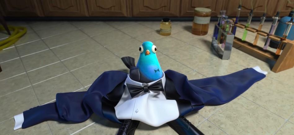 รีวิว Spies in Disguise ยอดสปายสายพลาง เปลี่ยนสายลับจอมเข้มเป็นนกพิราบสุดฮา ! อนิเมะไทย ฉากนี้โคตรดี ANIMEไทย Spies in Disguise
