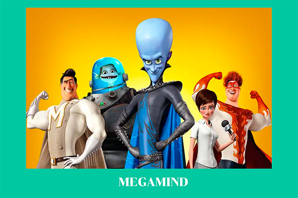 """""""Megamind"""" จอมวายร้ายพิทักษ์โลก อนิเมะไทย ฉากนี้โคตรดี ANIMEไทย Netflix Megamind"""