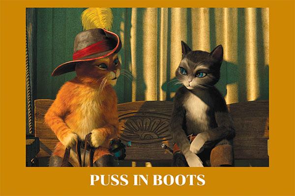 """Puss in boots"" แมวน้อยนัยย์ตามรณะ อนิเมะไทย ฉากนี้โคตรดี ANIMEไทย Puss in boots"