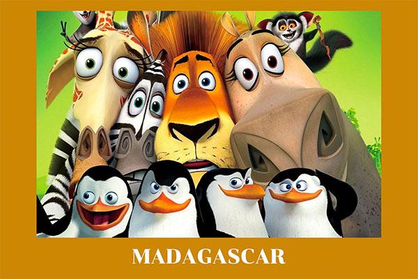 Madagasgar มาดากัสการ์ อนิเมะไทย ฉากนี้โคตรดี ANIMEไทย Madagasgar