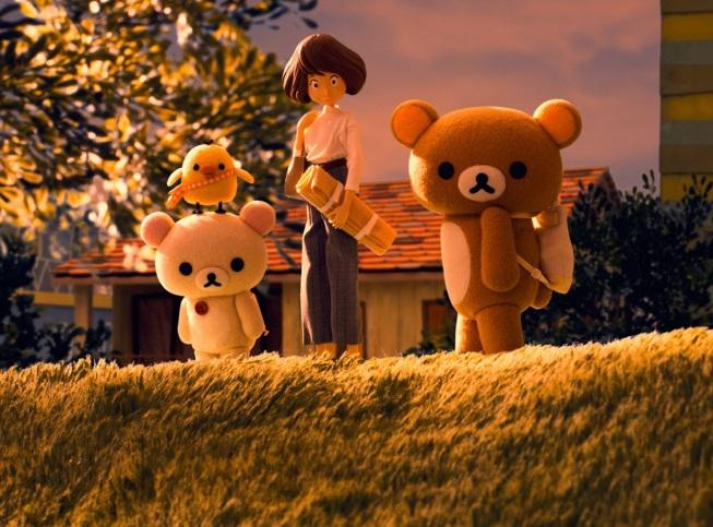 """Rilakkuma and Kaoru"" มันน่ารักอะไรอย่างนี้นะ !! อนิเมะไทย ฉากนี้โคตรดี ANIMEไทย Netflix Rilakkuma and Kaoru"