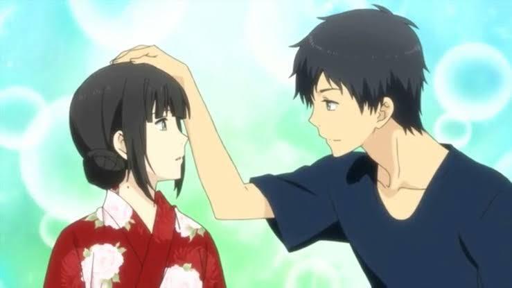 7 คู่รักจากอนิเมะที่หวานฉ่ำจนคุณต้องอมยิ้ม อนิเมะไทย ฉากนี้โคตรดี ANIMEไทย คู่รักอนิเมะ