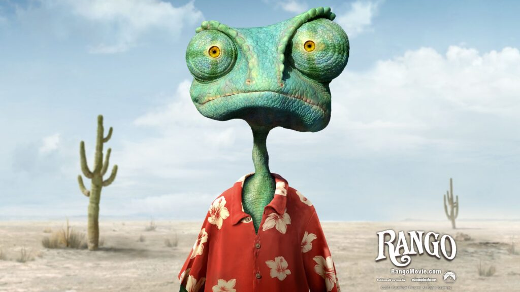 """""""RANGO"""" แรงโก้ ฮีโร่ทะเลทราย อนิเมะไทย ฉากนี้โคตรดี ANIMEไทย Netflix RANGO"""