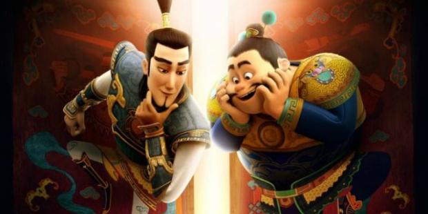 """""""The Guardian Brothers"""" เทพเจ้าที่ถูกหลงลืม อนิเมะไทย ฉากนี้โคตรดี ANIMEไทย Netflix The Guardian Brothers"""