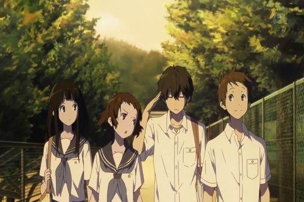 HYOUKA ปริศนาความทรงจำ อนิเมชั่นแนวลึกลับจากญี่ปุ่น อนิเมะไทย ฉากนี้โคตรดี ANIMEไทย HYOUKA