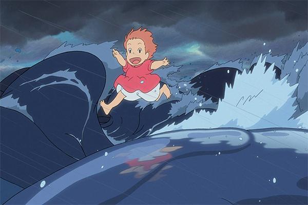 รีวิวอนิเมะเรื่อง Ponyo ธิดาสมุทรผจญภัย อนิเมะไทย ฉากนี้โคตรดี ANIMEไทย Netflix Ponyo