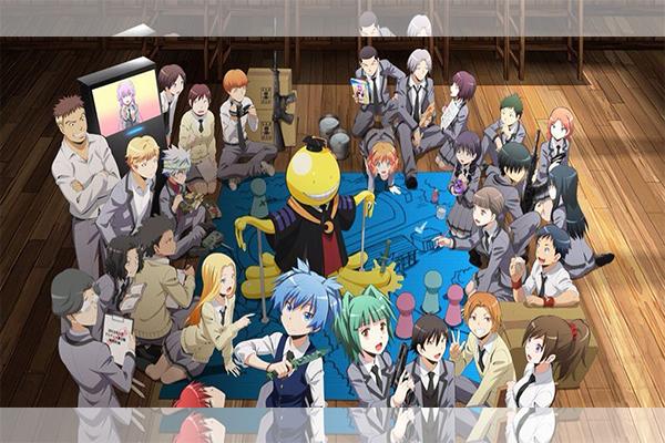รีวิวอนิมะเรื่อง Assassination Classroom ห้องเรียนลอบสังหาร อนิเมะไทย ฉากนี้โคตรดี ANIMEไทย Netflix AssassinationClassroom