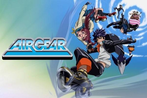 Air Gear ขาคู่ทะลุฟ้า อนิเมชั่นที่บอกเล่าเรื่องราวในการแข่งขันแอร์เกียร์ อนิเมะไทย ฉากนี้โคตรดี ANIMEไทย AirGear
