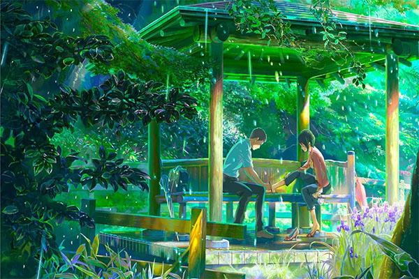 รีวิวการ์ตูน The Garden of Words ยามสายฝนโปรยปราย อนิเมะไทย ฉากนี้โคตรดี ANIMEไทย TheGardenofWords