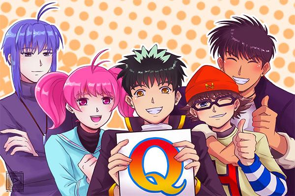 """รีวิวการ์ตูนญี่ปุ่นเรื่อง """"Detective School Q"""" อนิเมะไทย ฉากนี้โคตรดี ANIMEไทย DetectiveSchoolQ"""